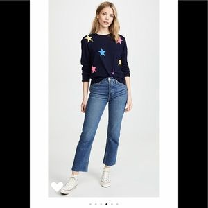 Sundry Stars and Hearts Cashmere Sweater